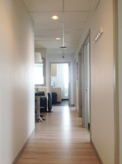 Hallway to Clinic Rooms